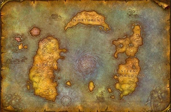 Azeroth, monde de Warcraft