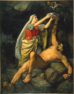 Loki et Sigyn