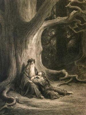 Merlin et Viviane