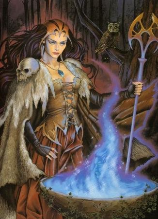 Morgane f e ou sorci re des mythes arthuriens - Le cycle arthurien et les chevaliers de la table ronde ...