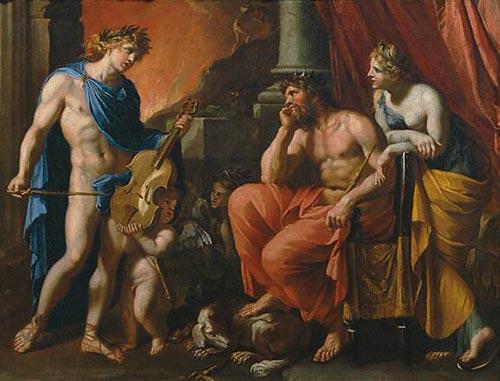 Orphée, Hadès et Perséphone