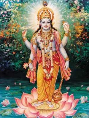 Vishnou ou Vishnu