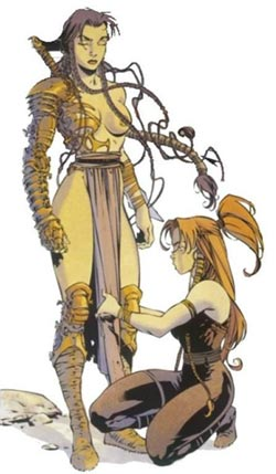 Geste des Chevaliers Dragons, Jaina et Ellys