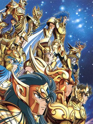 Saint Seiya Chevaliers d'Or ou Golds Saints