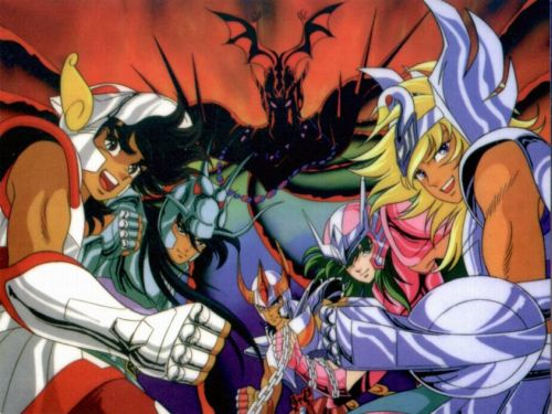 Anime Saint Seiya Le Sanctuaire