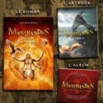 Myrihandes artbook Livre 1 et album