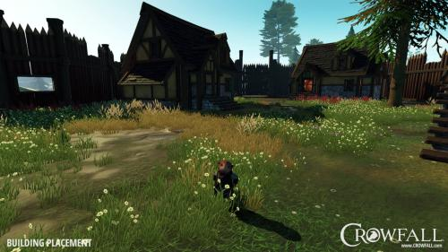 Crowfall Royaumes Eternels ville