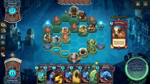 Faeria interface