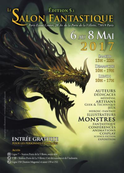 Salon du Fantastique 2017