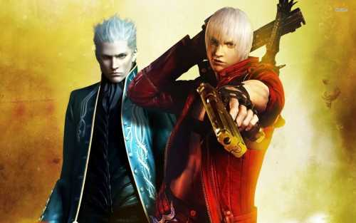 Vergil et Dante Devil May Cry 3