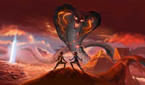 Apophis Ou Apep, Serpent Géant De La Mythologie égyptienne