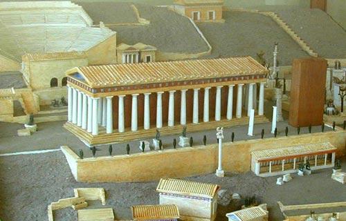 Temple de Delphes