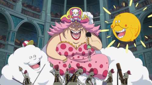 Big Mom, Zeus et Prométhée