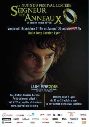 Nuit Seigneur des Anneaux, festival des Lumières 2018