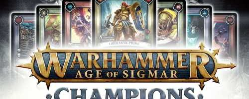 Warhammer : Age of Sigmar Champions