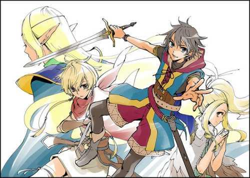 Manga Chroniques de la Guerre de Lodoss