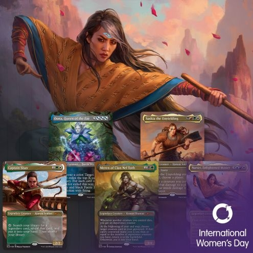Magic : The Gathering, Secret Lair : International Women's Day 2020