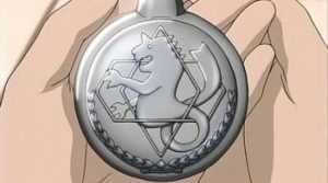 Fullmetal Alchemist montre à gousset