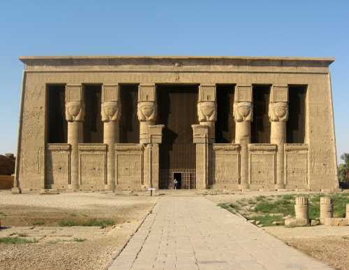 Temple d'Hathor de Dendera