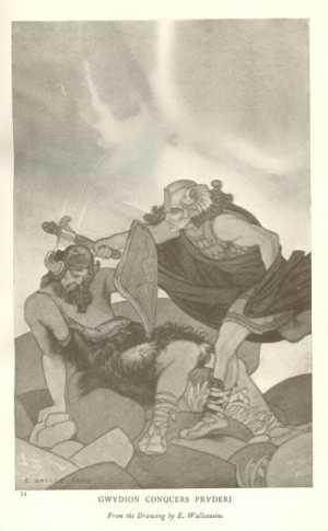 Gwydion and Pryderi