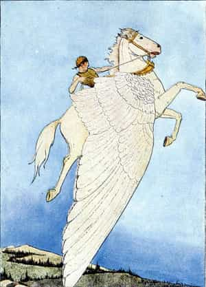 Bellérophon et Pégase