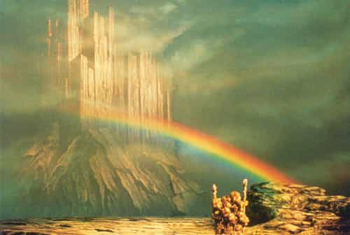 Asgard et le Bifrost