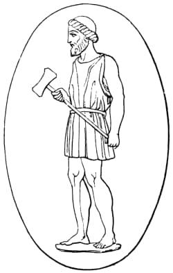 Héphaïstos ou Vulcain